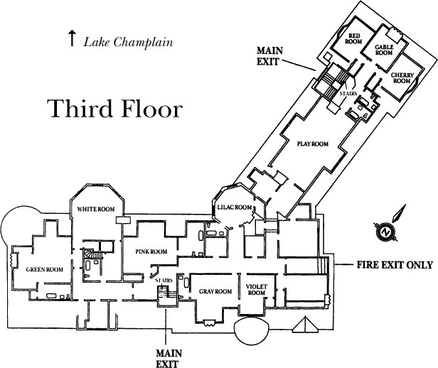 Inn Floor Plans Shelburne Farms