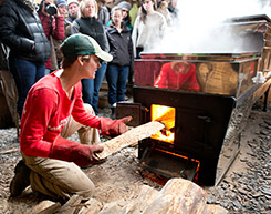 Sugaring at the Farm
