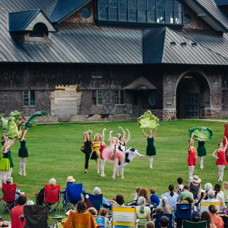 Farm to Ballet at Shelburne Farms. Photo by Brandon Parrish.