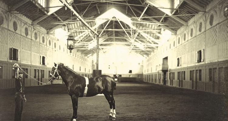 Its Interior Hall Was The Largest Open Span Wooden Structure In America For A Time But Horse Breeding Venture Itself Faltered