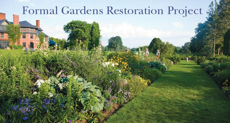 Ordinaire The Multi Phase, Formal Gardens Restoration Project Was Launched In 2006.